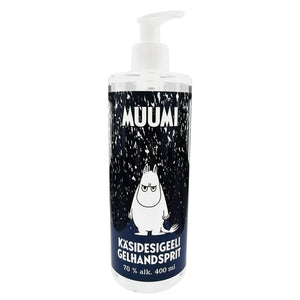 Moomin® Hand Sanitizer Pump Bottle Dispenser | Limited Winter Edition | 400 ml