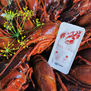Load image into Gallery viewer, doCare Snap 2 ml Hand Sanitizer | Crayfish Edition | 20 pcs.