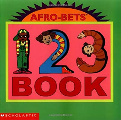 Afro-Bets 1-2-3 Book  (Soft Cover)