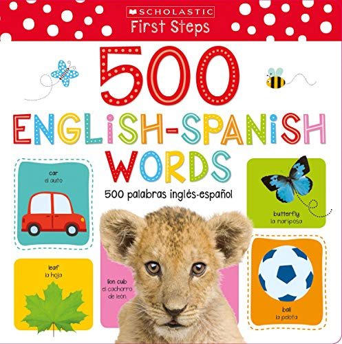 500 English/Spanish Words (Hardcover)