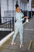 Mimi Green Corset Tracksuit Co-Ords Set