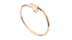 Stainless Steel Juste Un Clou Bracelet Rose Gold Color