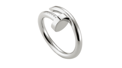 Stainless Steel Just Un Clou Ring Silver Color
