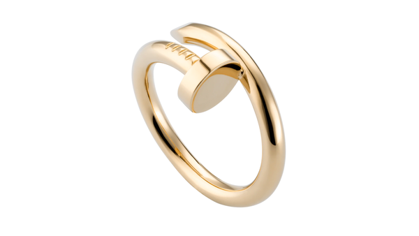 Stainless Steel Just Un Clou Ring Gold Color