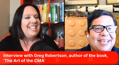 Art of the CMA interview with Katie Lance and Greg Robertson
