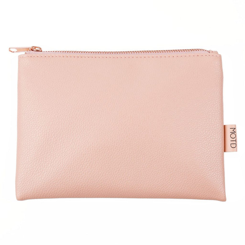 Makeup Bag Pouch Blush and Rose Gold