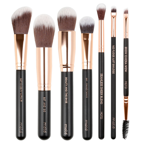 Dare To Begin Face and Eye Makeup Brush Set