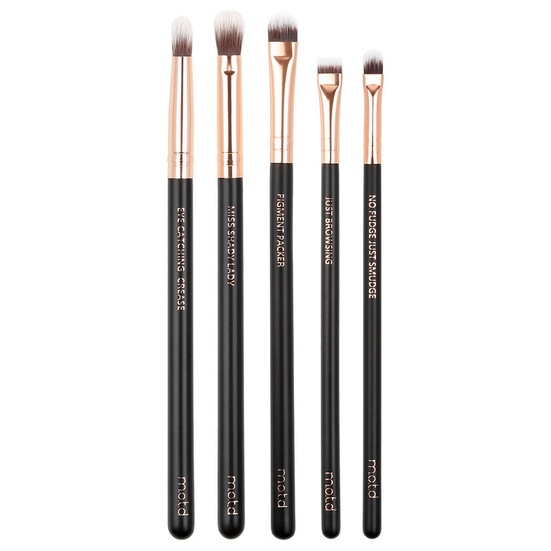 Eyes In A Flash Basic Vegan Eye Brush Set
