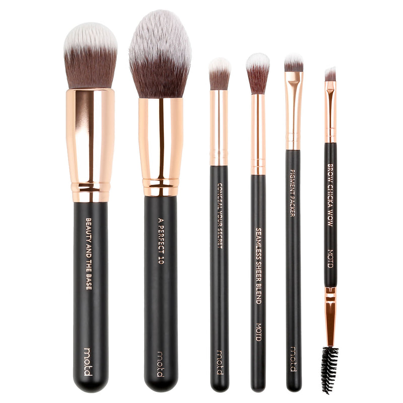 Full Face Essential Makeup Brush Set