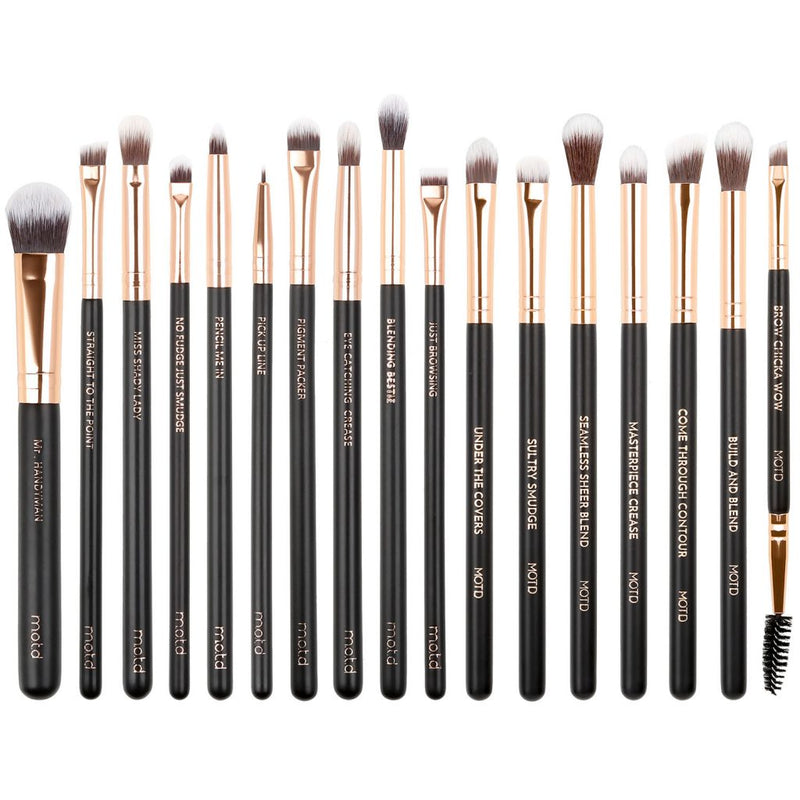 MOTD Pro Eye Makeup Brush Set