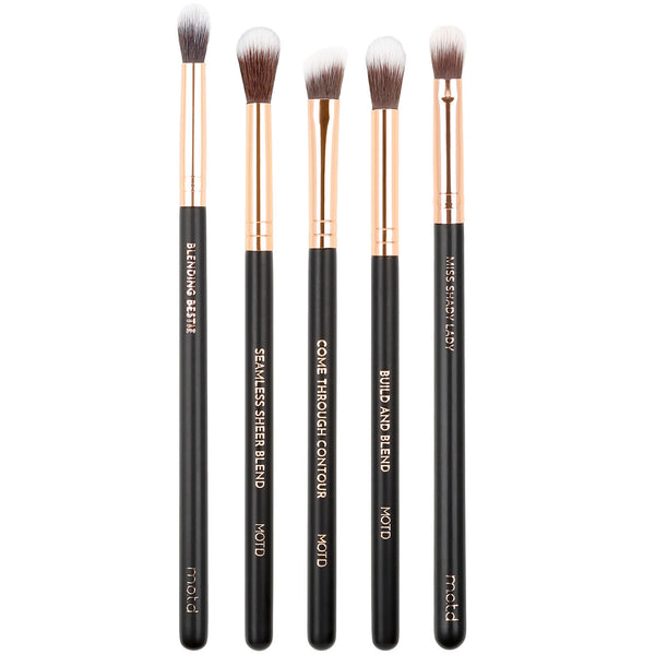 What The Fluff Blending Eye Brush Set