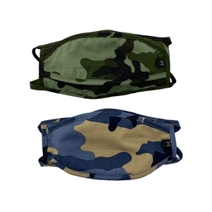 Camo Face Mask with Filter (2 Color Options)
