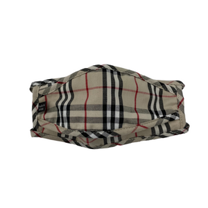 Plaid Face Mask with Filter (2 Color Options)