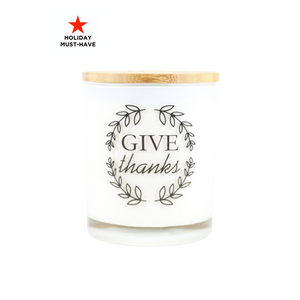 Give Thanks Holiday Candle