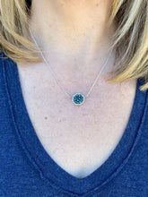 Load image into Gallery viewer, Beaded Circle Necklace (3 Color Options)