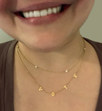 Load image into Gallery viewer, VOTE Necklace