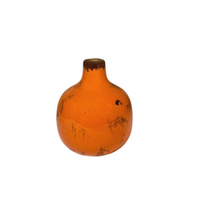 Load image into Gallery viewer, Orange Mini Vase