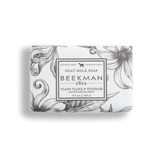 Load image into Gallery viewer, Ylang Ylang & Tuberose Goat Milk Soap Bar