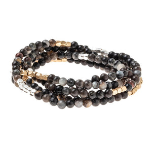 Picasso Jasper - Stone of Creativity Wrap Bracelet/Necklace