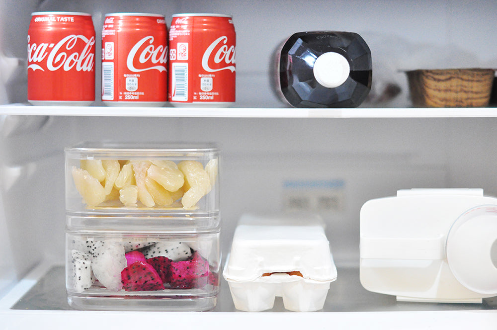 stack-able refrigerator container