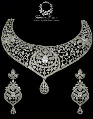 BLSS - 0030 Luxury Crystal Jewelry Set