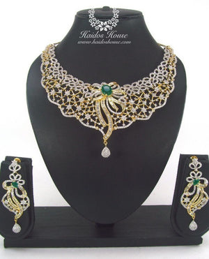 LSS - 0002 Luxury Crystal Jewelry Set