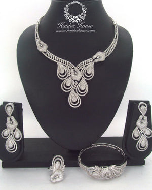 LSS - 0018 Luxury Crystal Jewelry Set