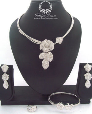 LSS - 0008 Luxury Crystal Jewelry Set