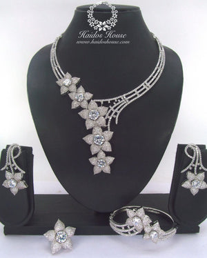 LSS - 0019 Luxury Crystal Jewelry Set