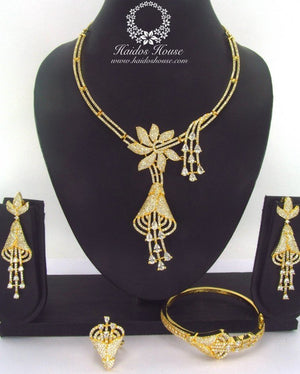LSS - 0004 Luxury Crystal Jewelry Set