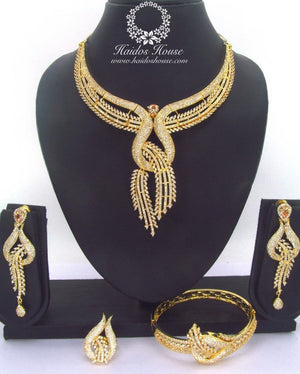 LSS - 0021 Luxury Crystal Jewelry Set