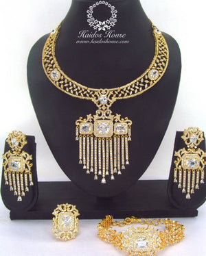 LSS - 0022 Luxury Crystal Jewelry Set