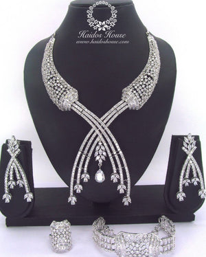 LSS - 0016 Luxury Crystal Jewelry Set