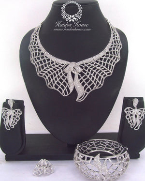 LSS - 0024 Luxury Crystal Jewelry Set