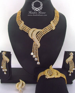 LSS - 0012 Luxury Crystal Jewelry Set