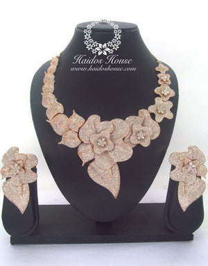 BLSS - 0032 Luxury Crystal Jewelry Set