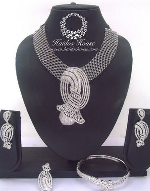 BLSS - 0033 Luxury Crystal Jewelry Set