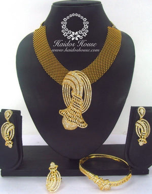 BLSS - 0034 Luxury Crystal Jewelry Set