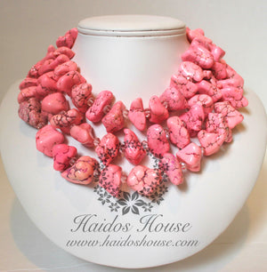 HBS 1333 - Baby Pink Beads Set
