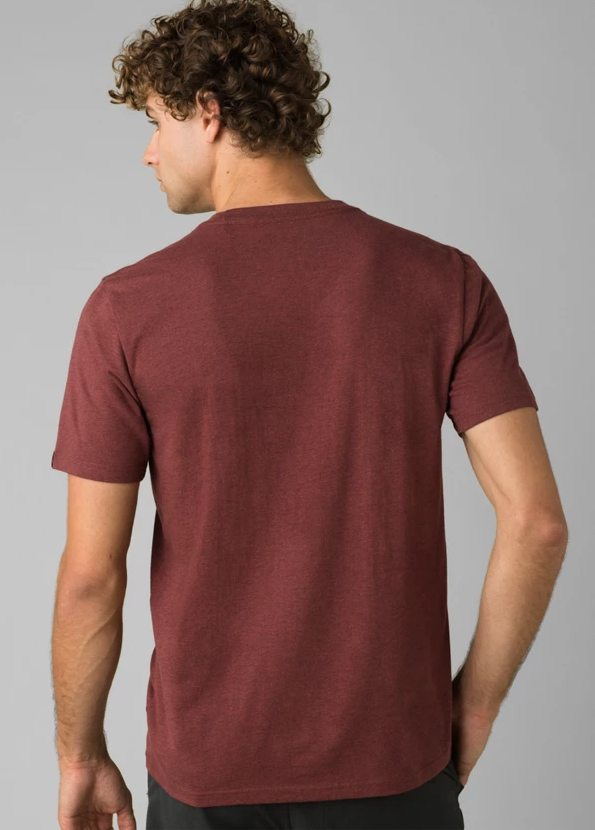 prAna Beer Belly Journeyman in Maple Heather back