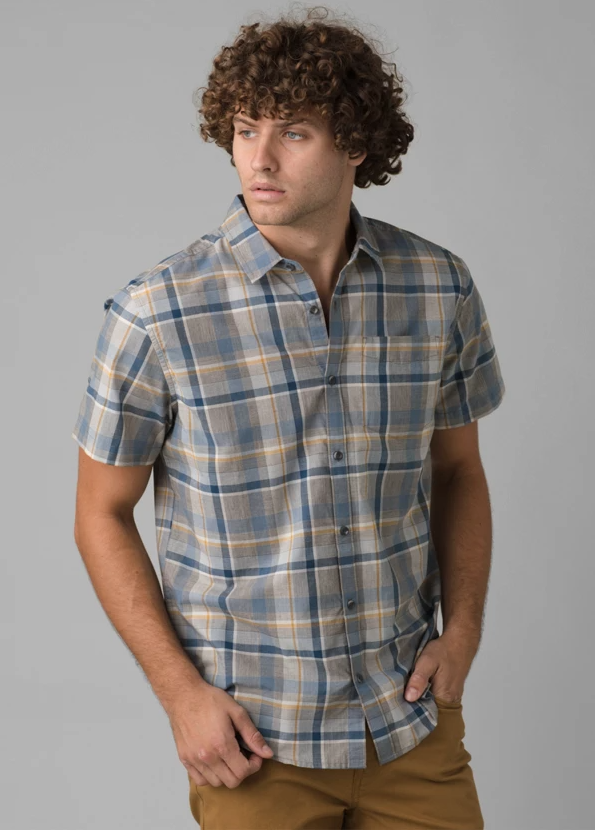 prAna Groveland Shirt in Reed front