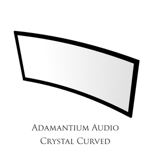 Load image into Gallery viewer, Adamantium Audio Frame Screen Crystal Curved 21:9