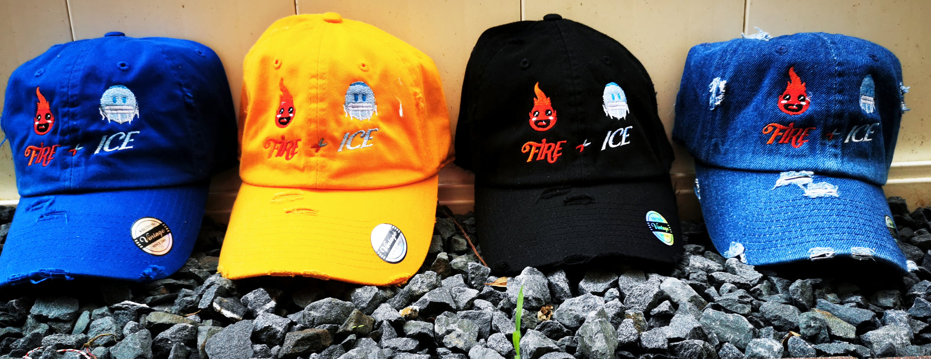 Fire & Ice Hats