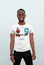 Load image into Gallery viewer, Crew neck tshirt | White