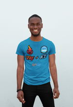 Load image into Gallery viewer, Crew neck tshirt | Sapphire
