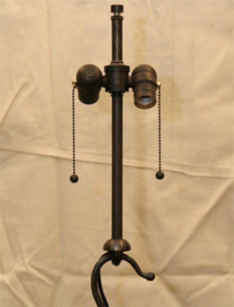 Floor Lamp Mid Century Modern wrought iron links 1940's