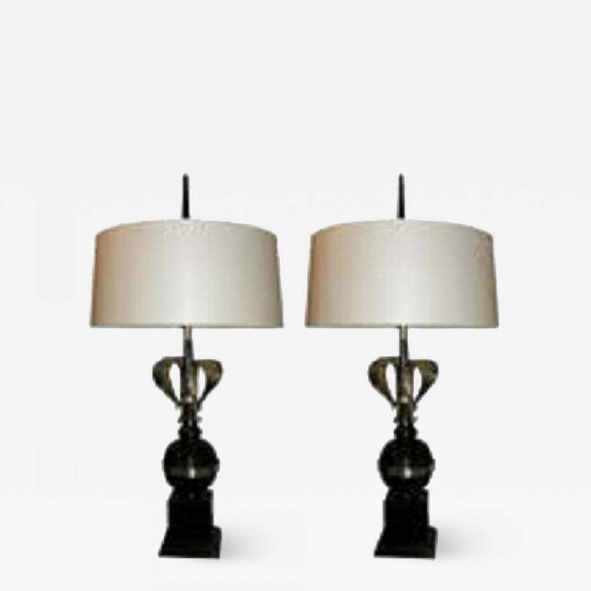 Pair of French Art Moderne Table Lamps