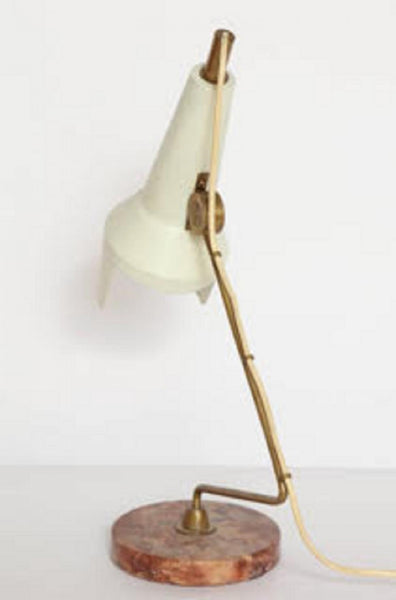 Table Lamp Articulated Mid Century Modern Italy 1950s