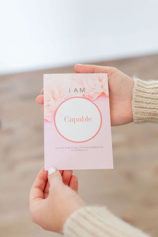 Who You Say I Am affirmation card