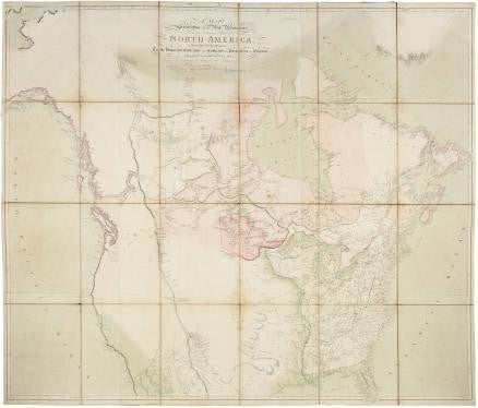 ARROWSMITH, Aaron (1750-1823). A Map Exhibiting all the New Discoveries in the Interior Parts of North America. London: Aaron Arrowsmith, 1811.